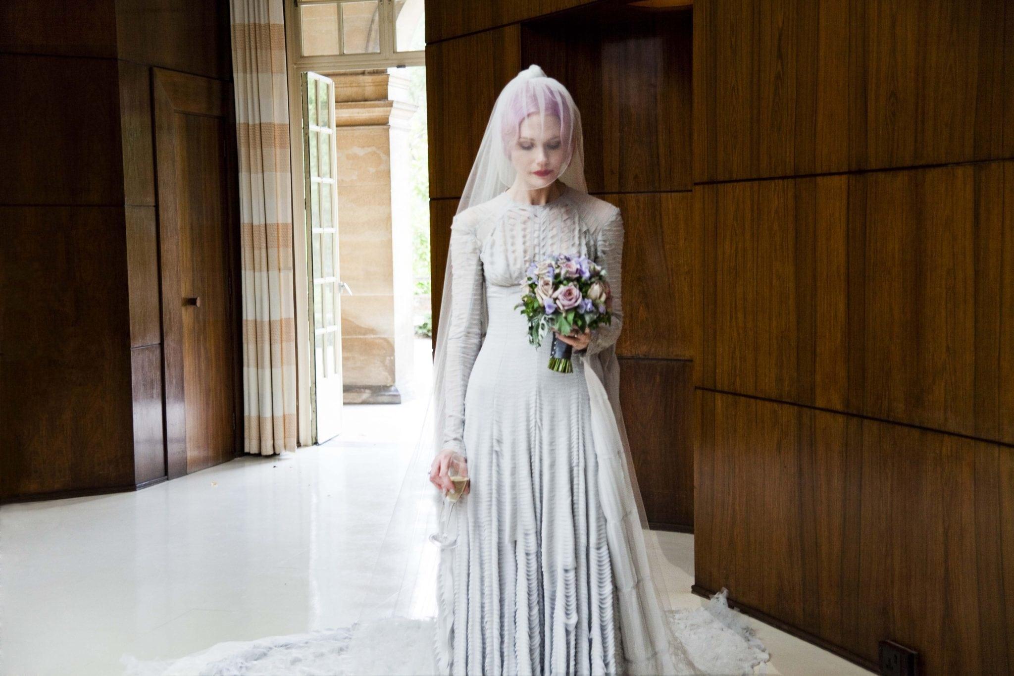 wedding dresses v a knot pop