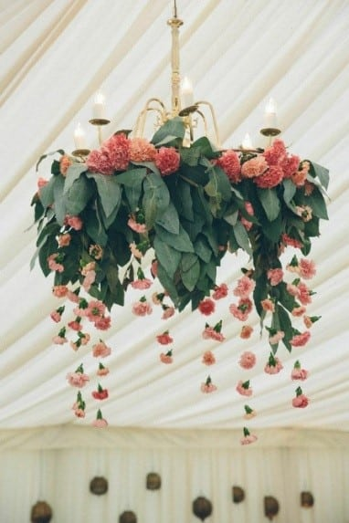 Unique and beautiful floral chandeliers for wedding inspiration and floral chandeliers aloadofball Gallery